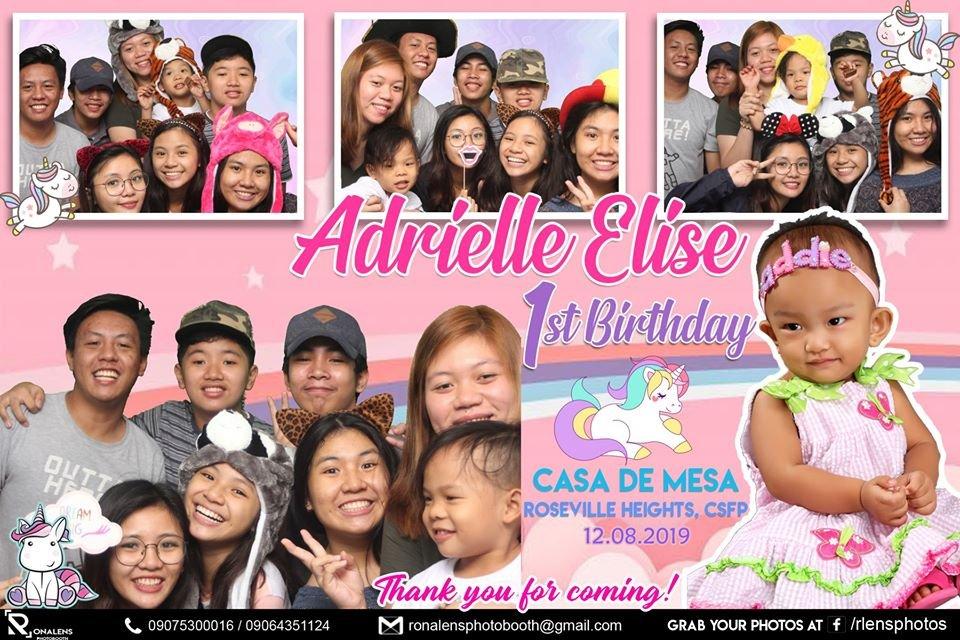 ADRIELLE ELISE 1st BIRTHDAY