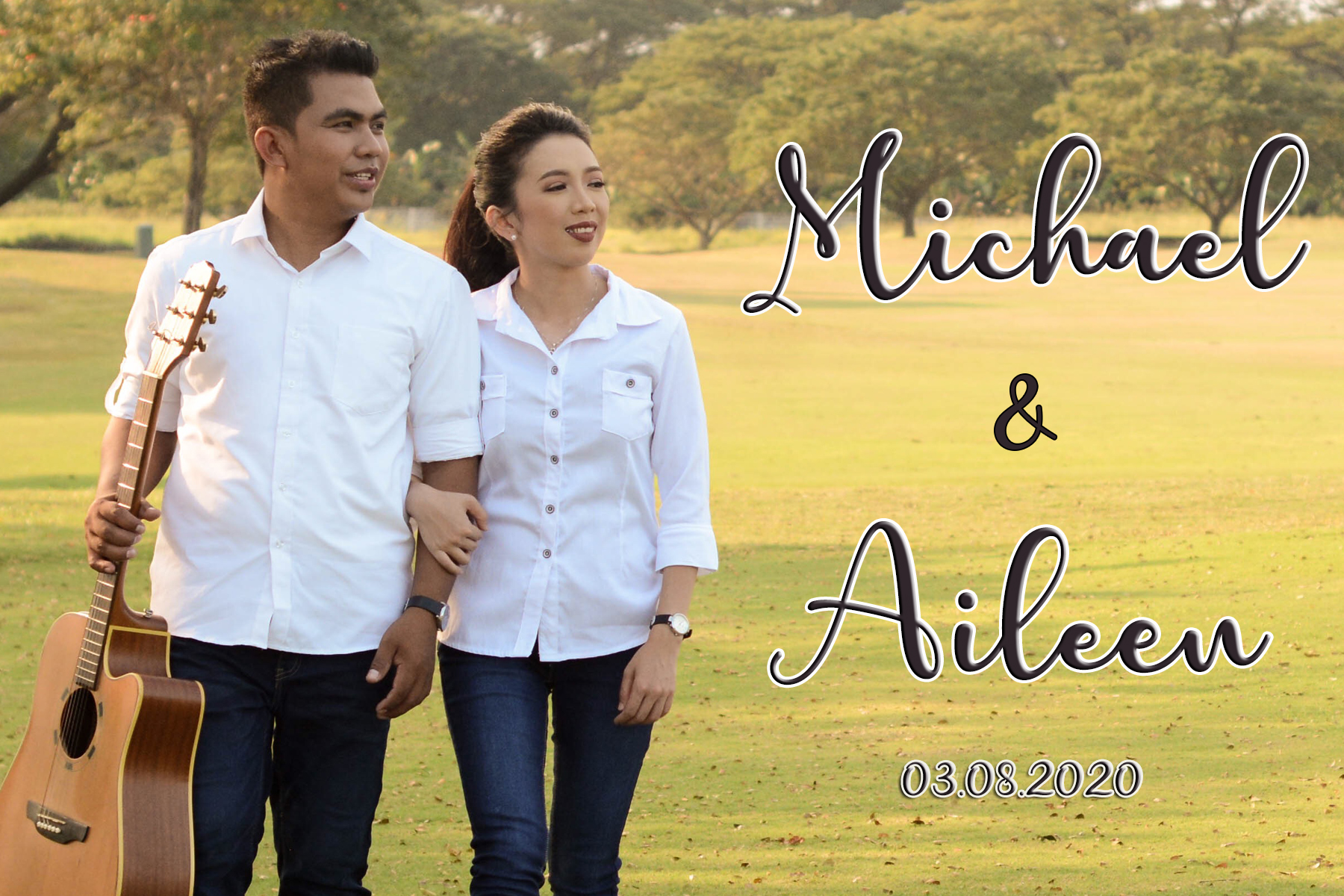 MICHAEL & AILEEN NUPTIAL